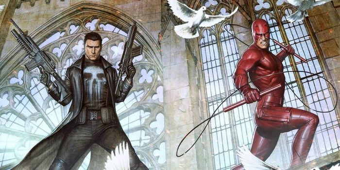 The Punisher joins Daredevil