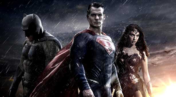 Batman, Superman and Wonder Woman