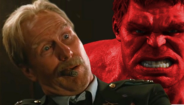 Will William Hurts General Ross hulk out in Civil War?
