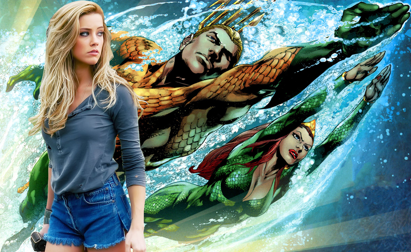 Amber Heard in talks to join as Mera!