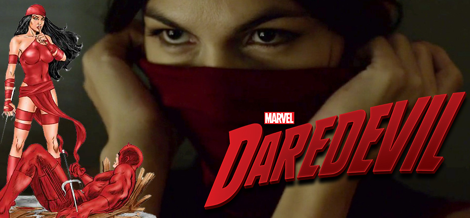 Daredevil & Elektra - very fiery and lustful relationship!
