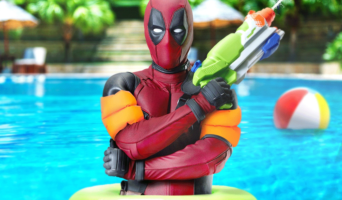 Deadpool on pool