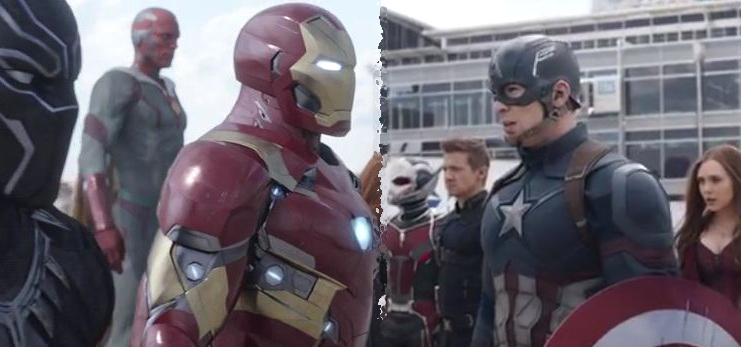 First Captain America: Civil War TV spot launched!