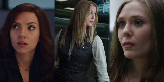 Heroines grab the spotlight in the new Captain America: Civil War featurette