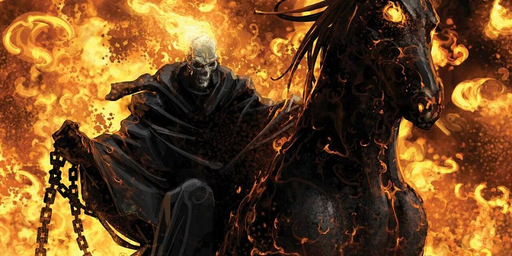 Ghost Rider too has appeared on live-action big screen!