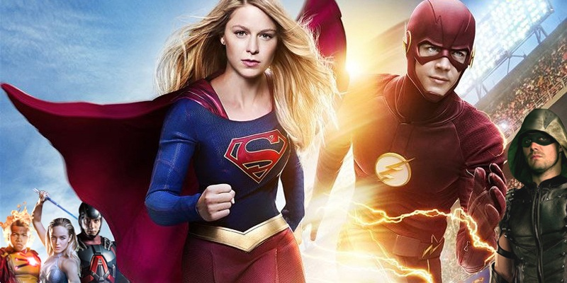 Supergirl is the common thread in the CW's upcoming four-way superhero crossover!