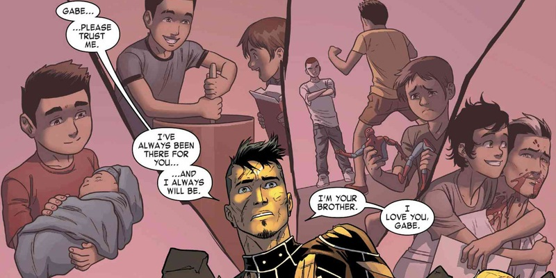 Robbie Reyes' relationship with Gabe is a reason why Agents of S.H.I.E.L.D. is using him as Ghost Rider!