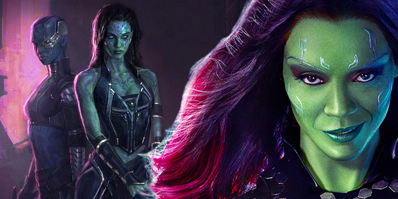 Zoe Saldana talks about the relationship between Nebula and Gamora in Guardians of the Galaxy Vol. 2!