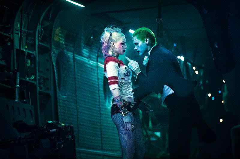 Suicide Squad's Harley Quinn and The Joker!