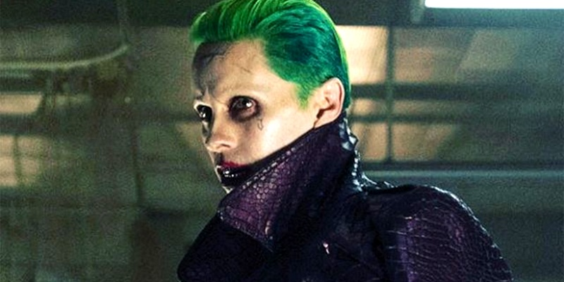Jared Leto reveals that a scene featuring The Joker in gold underwear was cut from Suicide Squad!