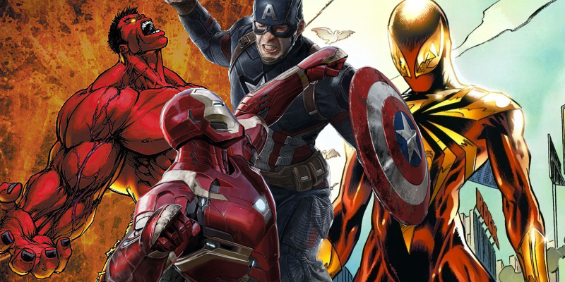 Russo Brothers reveal that Red Hulk and Iron Spider suit were considered for Captain America: Civil War!