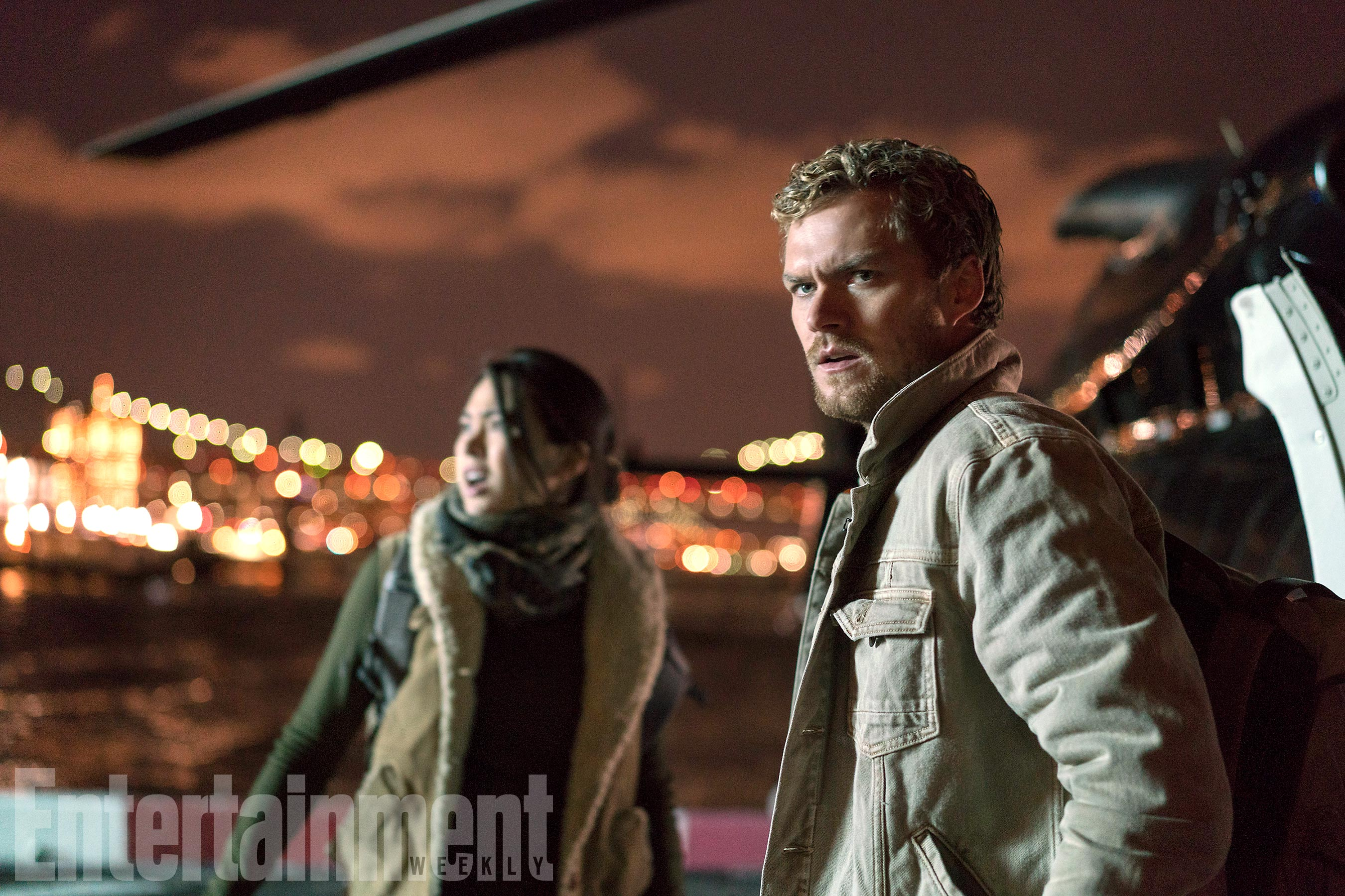 Colleen Wing and Danny Rand