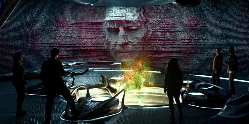 First real look at Bryan Cranston's Zordon in Power Rangers movie