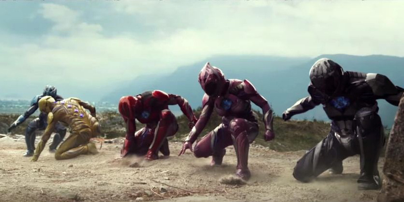New trailer for Power Rangers movie has arrived!