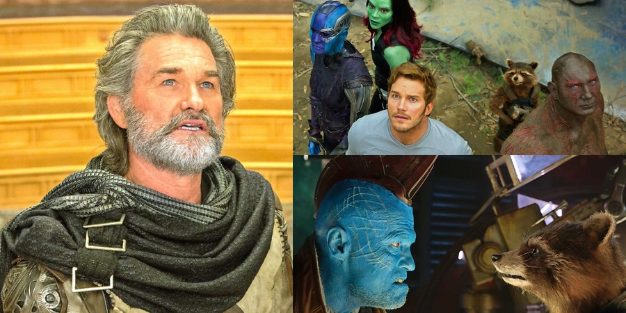 New Guardians of the Galaxy Vol. 2 photos released including a better look at Kurt Russell's Ego!