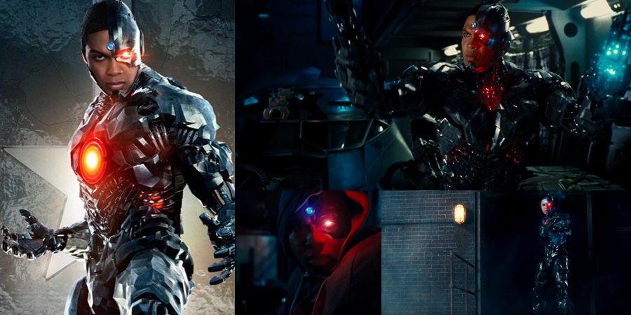 Justice League teaser and character poster for Ray Fisher's Cyborg released!