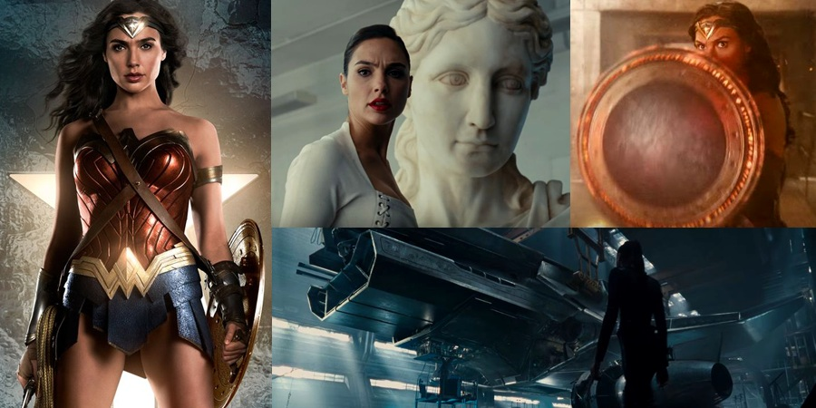 Justice League teaser and character poster for Wonder Woman released!