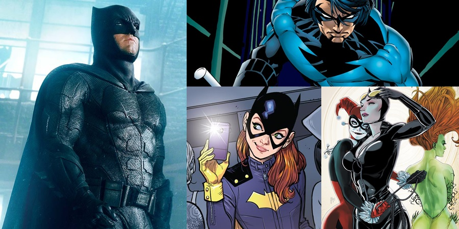 Four DCEU installments based on Batman characters are rumored to arrive in 2019!