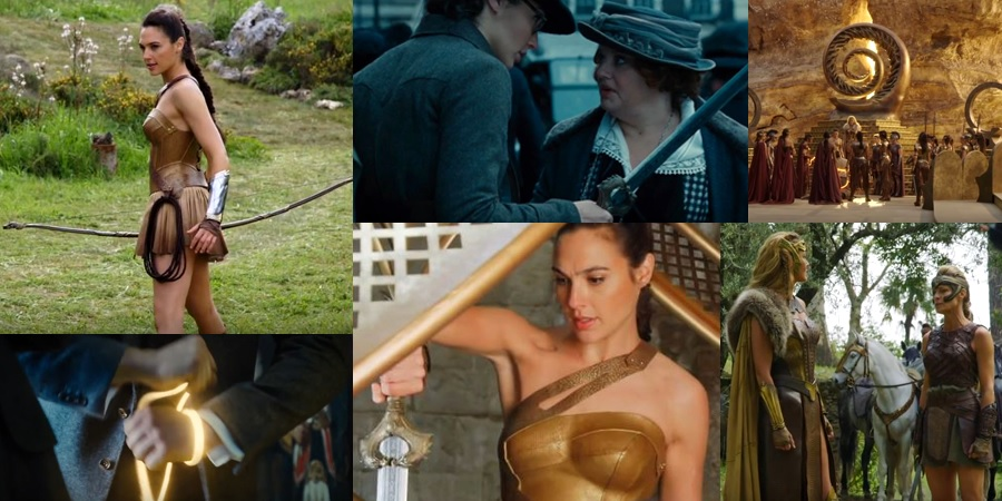 A bunch of new promotional materials for Wonder Woman have arrived!
