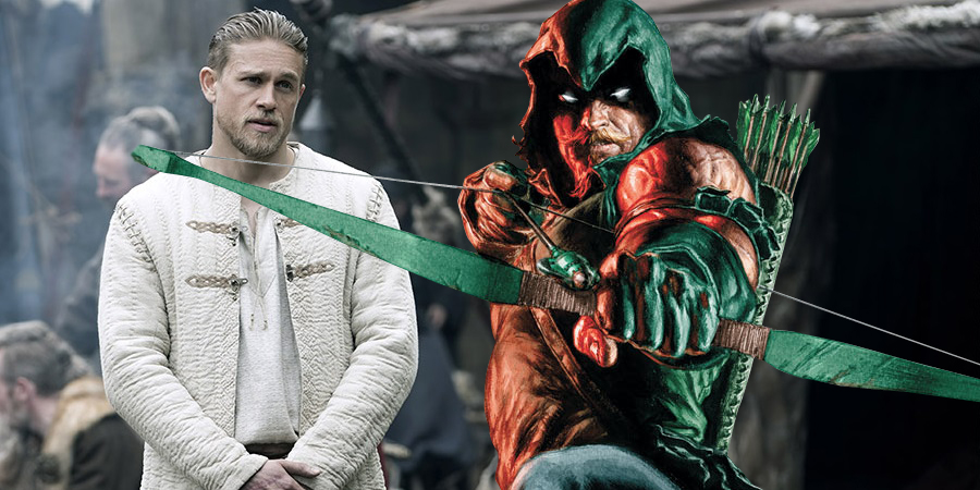 Charlie Hunnam is now interested in playing Green Arrow!