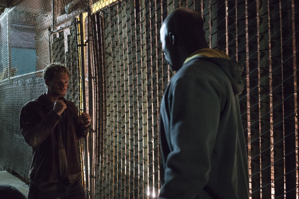 Iron Fist vs. Luke Cage