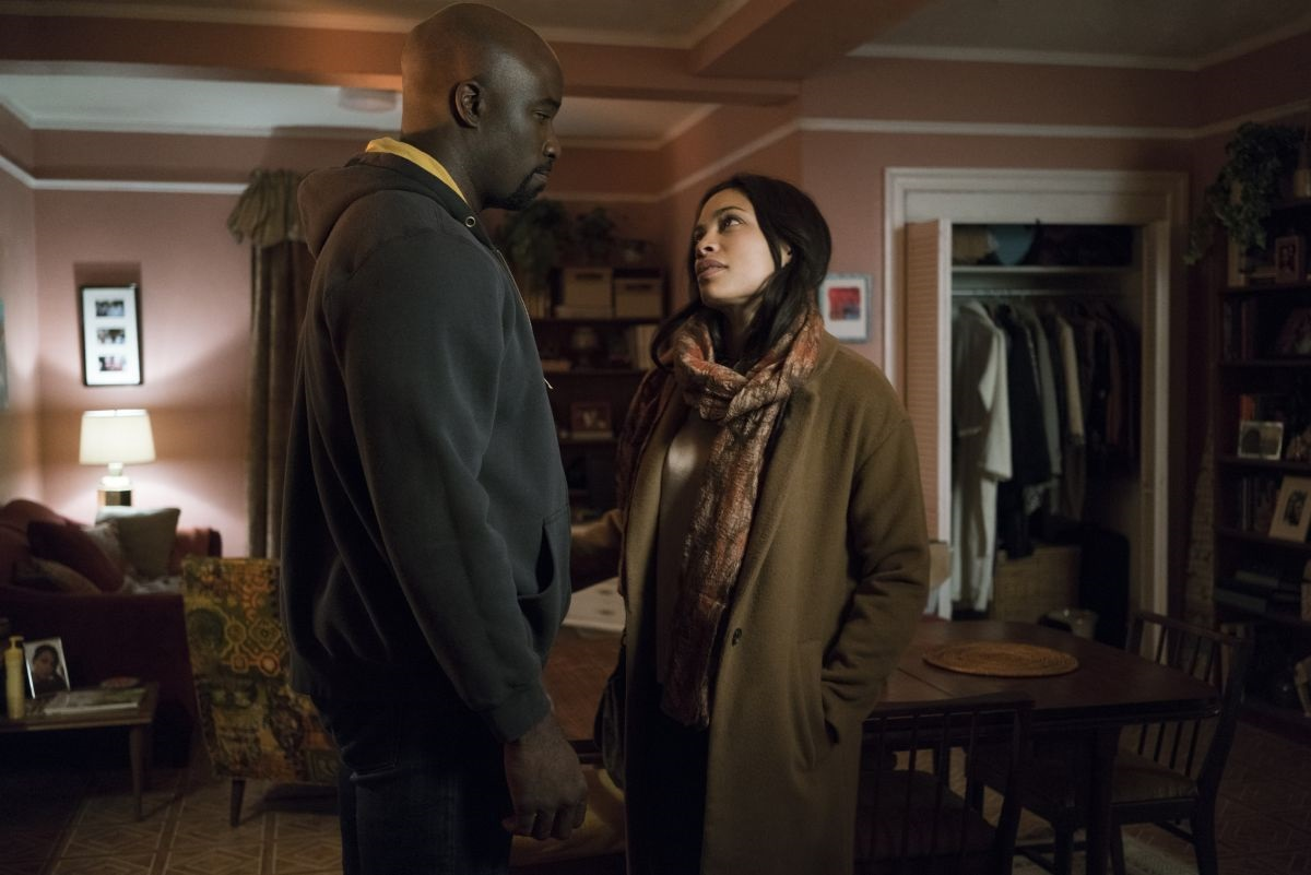 Luke Cage and Claire Temple