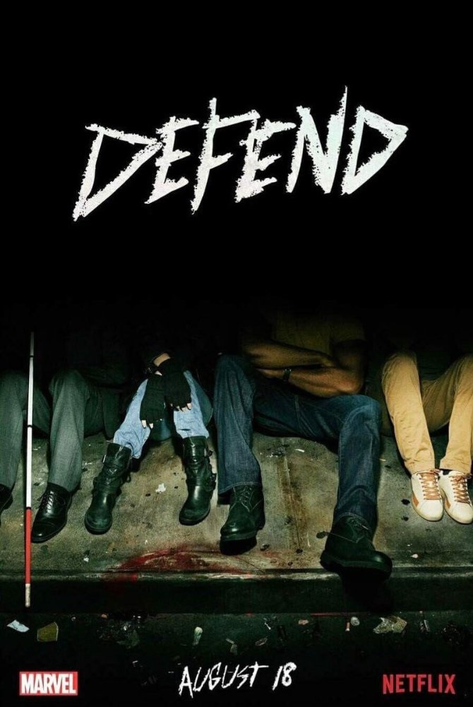 New poster for The Defenders