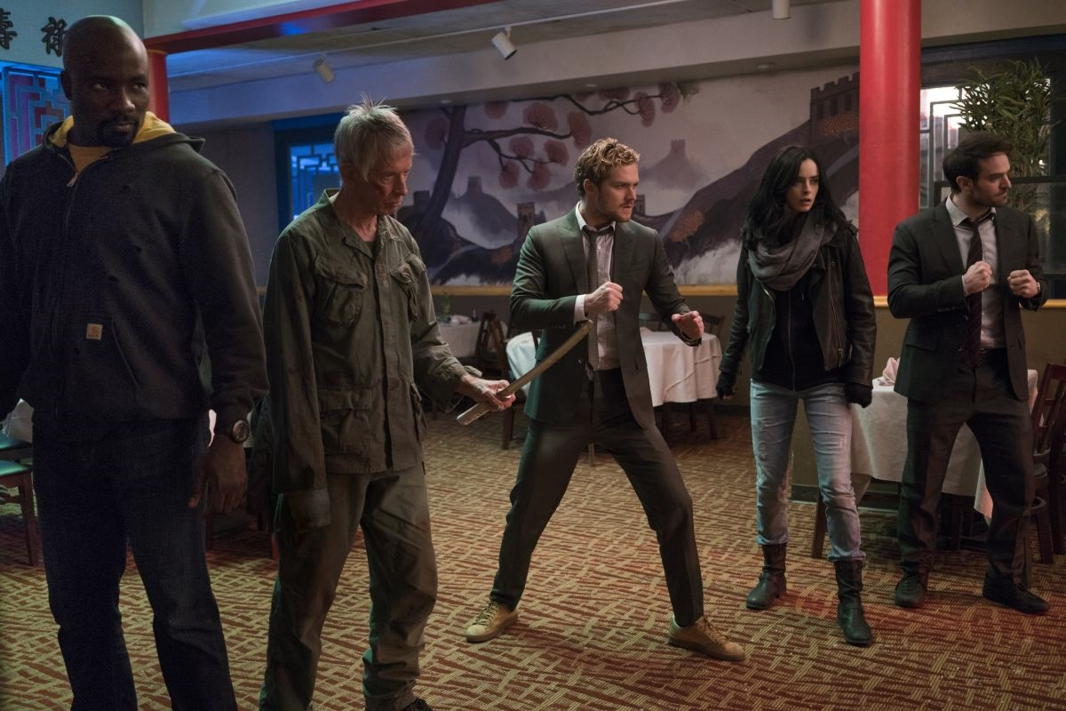 The Defenders with Stick