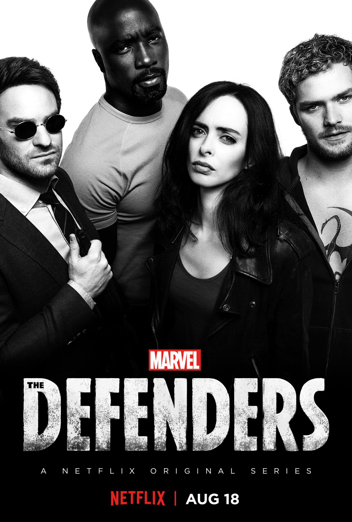 The new poster for Marvel's The Defenders