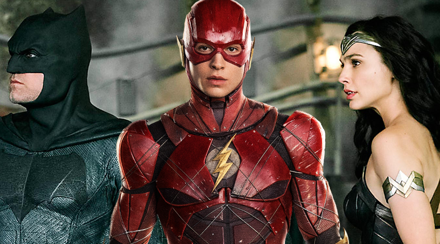 """Ezra Miller compares Flash with """"altruistic nerd"""" as new Justice League photo arrives!"""