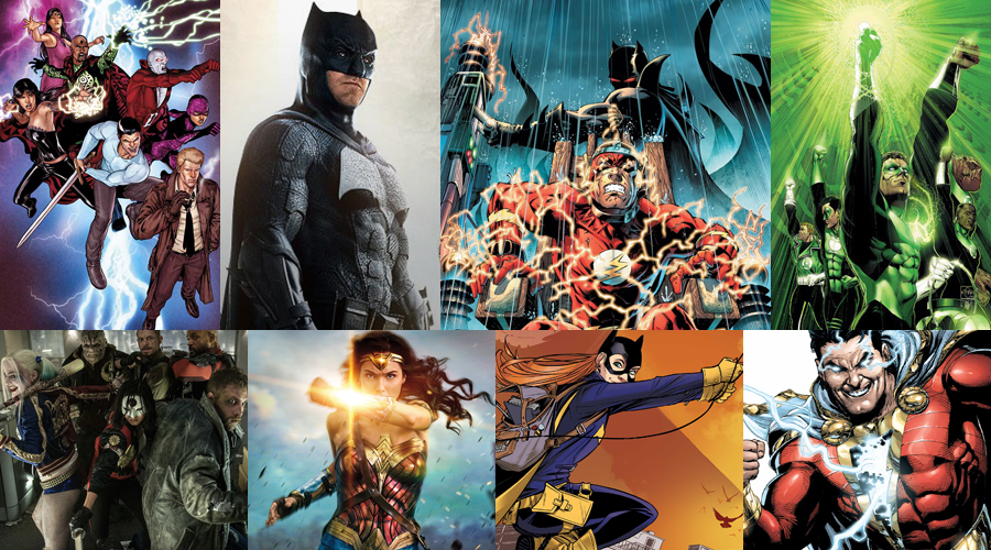 Eight DCEU movies including Flashpoint officially announced!