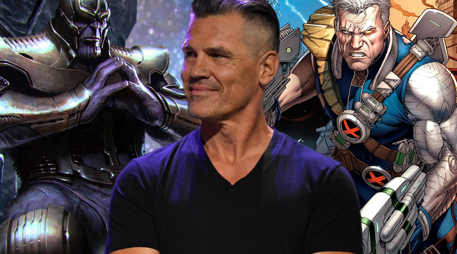 Josh Brolin talks about Thanos in Avengers: Infinity War and Cable in Deadpool 2!