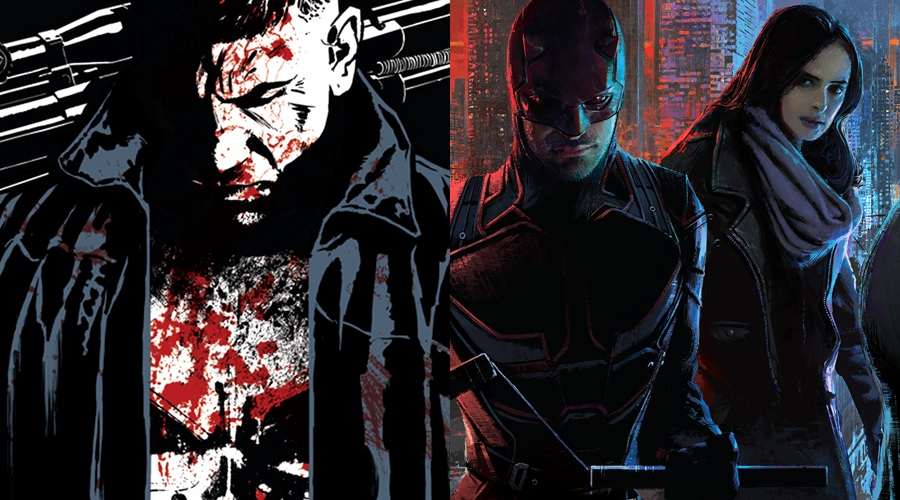 New posters for The Punisher and The Defenders arrive ahead of SDCC 2017!