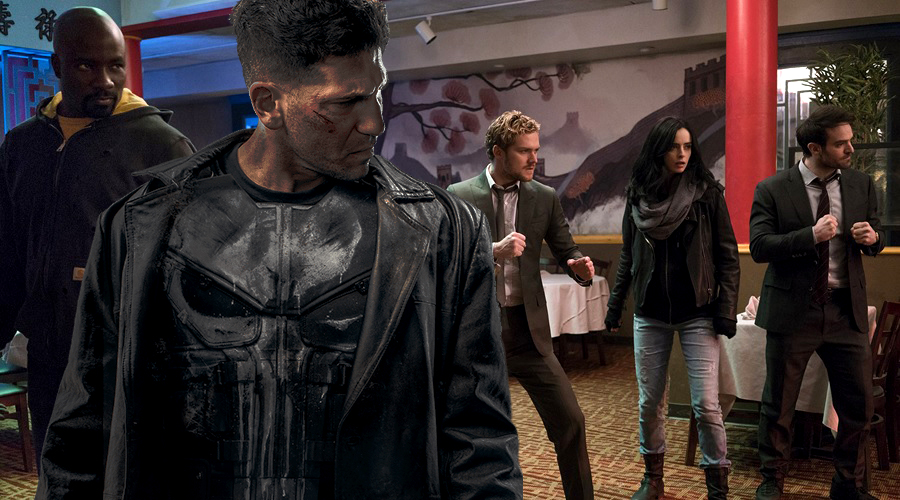 New promotional image for The Defenders arrives as rumor about The Punisher appearing pops up!
