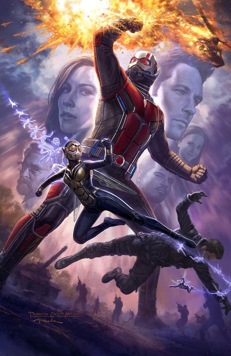 Concept art for Ant-Man and the Wasp