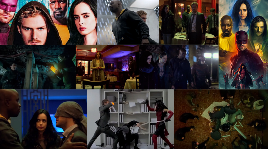 Final trailer for The Defenders along with a bunch of promotional material has arrived!