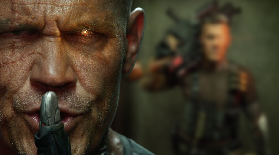 Ryan Reynolds has shared the first look at Josh Brolin as Cable from Deadpool 2!