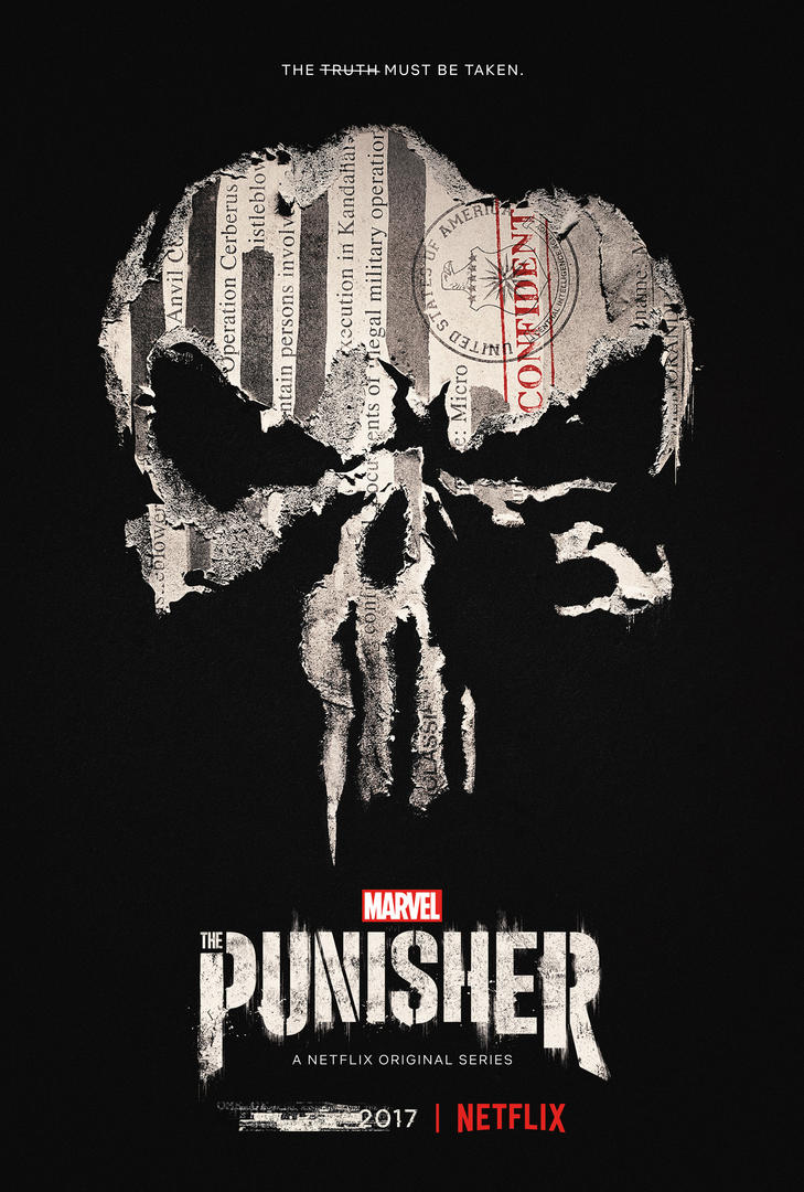 New poster for The Punisher