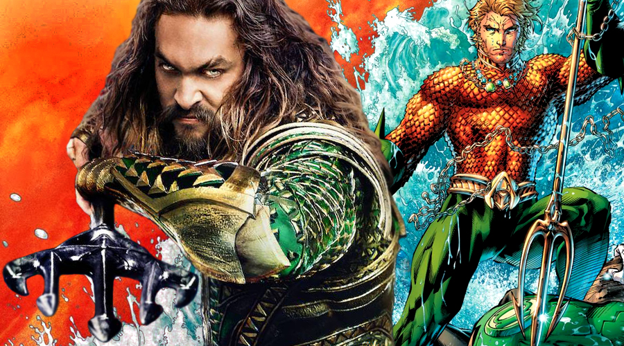 Jason Momoa's Aquaman is not wielding the superhero's iconic trident from the comics in Justice League!
