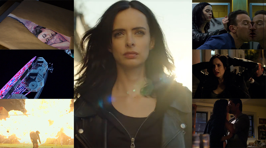 Marvel and Netflix have announced the premiere date of Jessica Jones Season 2 with the first official teaser!