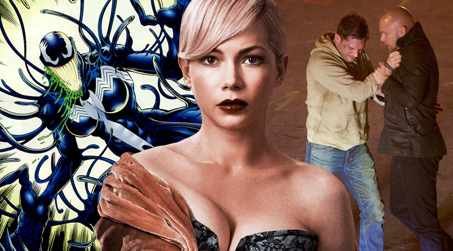 Michelle Williams confirms playing Anne Weying in Venom while new set photos show Tom Hardy engaging in a conflict!