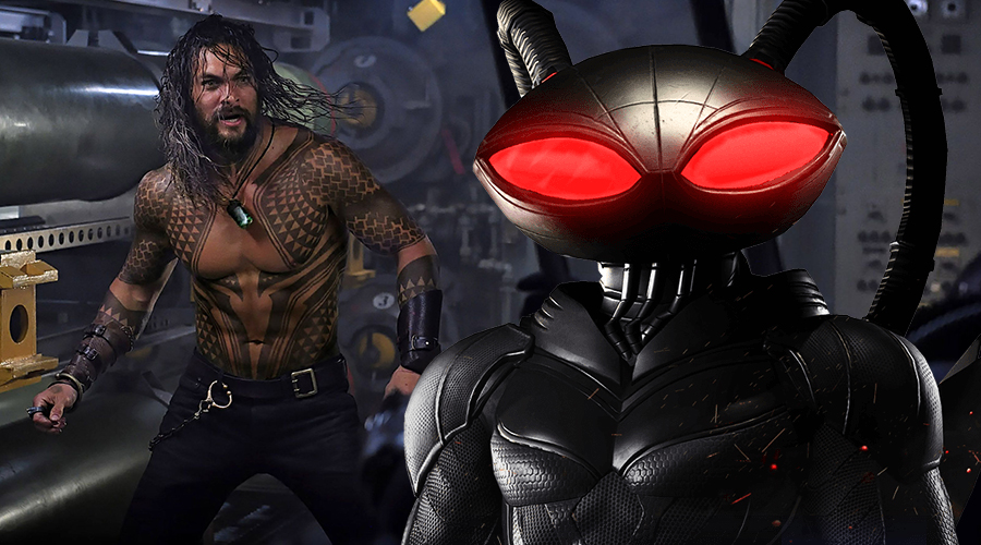 Aquaman director talks about Black Manta as new photo from the movie surfaces!