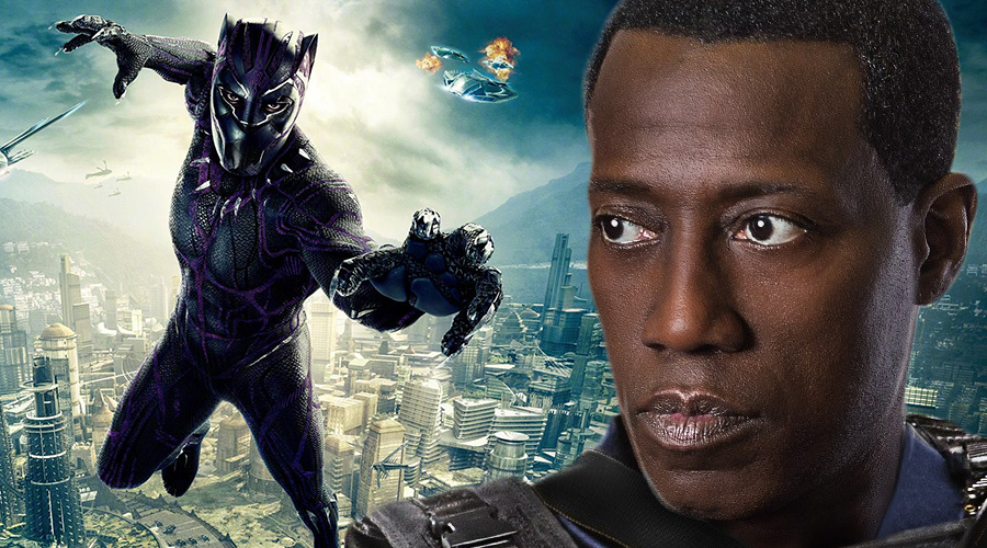 Wesley Snipes reveals why his 1990s Black Panther movie never got made!