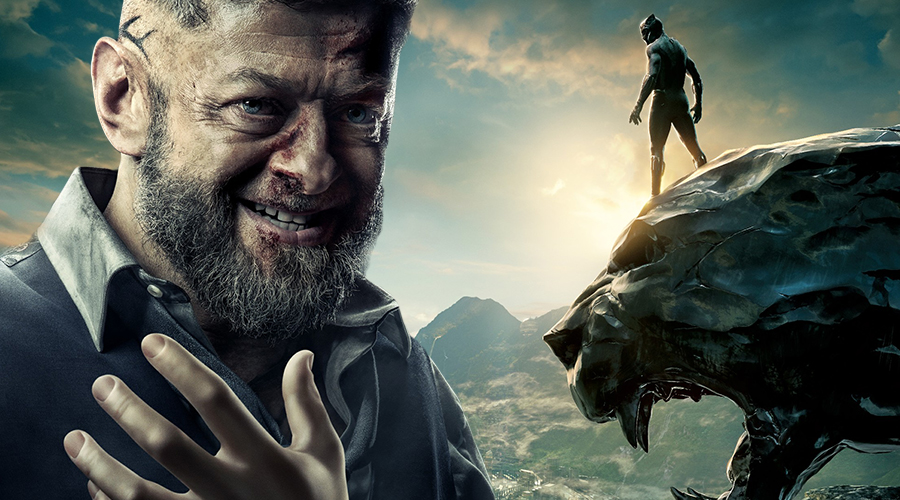 Andy Serkis talks about his Black Panther villain's humorous side, affiliations and relationship with Wakanda!