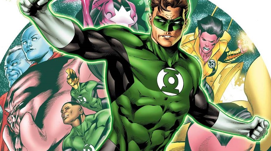 David S. Goyer offers a minor update on the status of Green Lantern Corps!