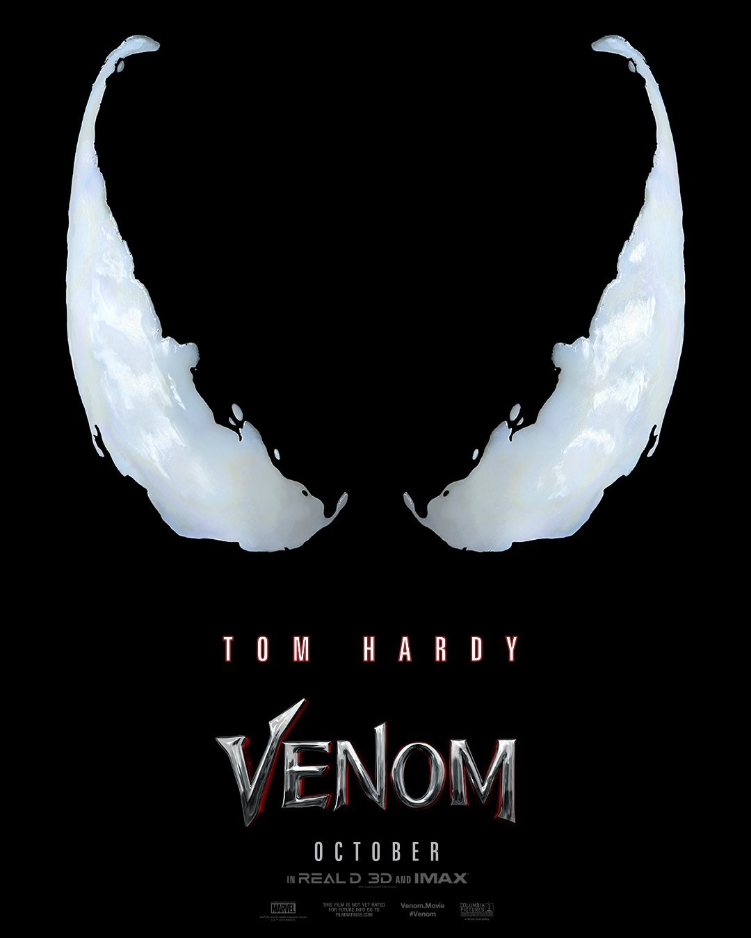 The official poster for Venom