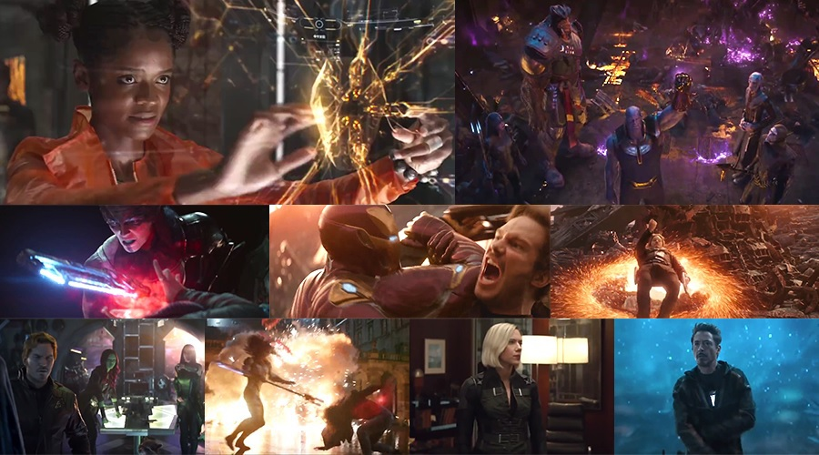 Four new TV spots and a featurette containing loads of new footage from Avengers: Infinity War have arrived!