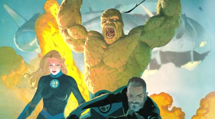 Marvel Comics has released a teaser trailer that bids the Fantastic Four a warm welcome!