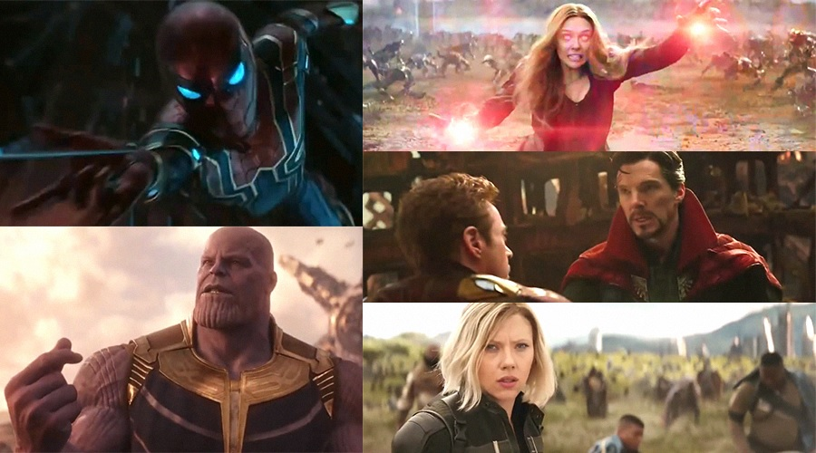 Two new TV spots featuring new footage from Avengers: Infinity War and a new still have arrived!
