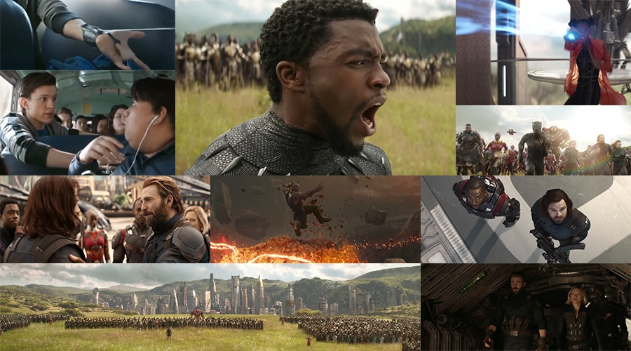 The first clip and a new TV spot for Avengers: Infinity War have arrived featuring lots of new footage!